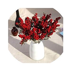 Lucky-fairy Simulation Beans Flower Plant Arranging Wedding Flower Artificial Flowers Valentine's Day Decorative Flower 101
