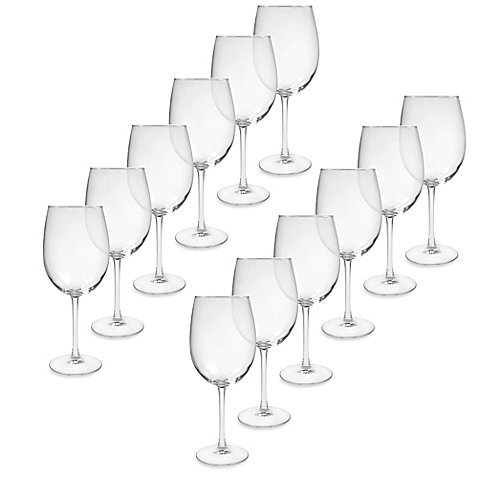 All-Purpose Wine Glasses, Clear, 18.5 Oz., Set of 12