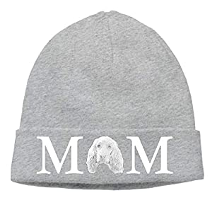 SHIEJFD English Cocker Spaniel Dog Mom Beanies Caps Skull Hats Hedging Cap 1