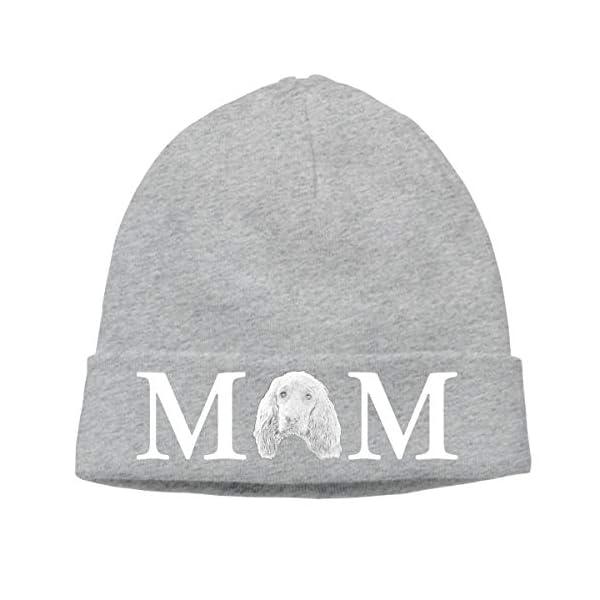 SHIEJFD English Cocker Spaniel Dog Mom Beanies Caps Skull Hats Hedging Cap 1