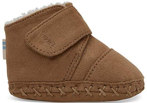 Infants Boot Winter - TOMS Kids Unisex Cuna (Infant/Toddler) Toffee Microfiber 3 M US Infant