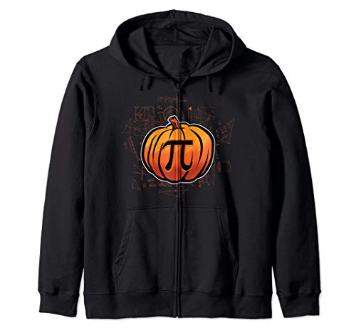 Pumpkin PI Funny Math Lover/Nerd Teacher Student Halloween Zip Hoodie]()