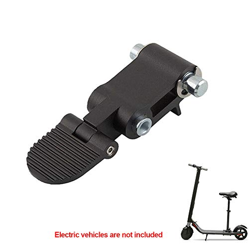 ller76 Repair Parts Folding Switch Mechanism Assembly Metal for Ninebot ES2 ES4 Scooter(Black)