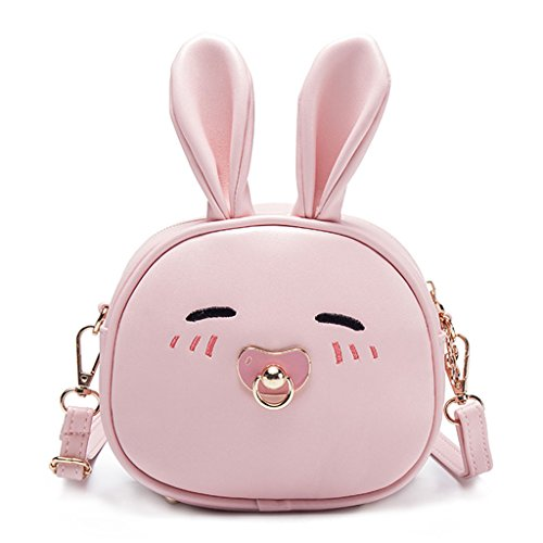 Light diseño de Bolso Cute 75x6 Claro Pink Long Bandolera para Perro Blue 69x2 Dabixx niños Rabbit 7x7x16cm Color Azul Ear 6 3 Rabbit I4qwIX
