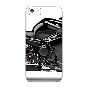 Awesome HPcMycK629RXnmA LisaMichelle Defender Tpu Hard Case Cover For Iphone 5c- Yamaha Fz6r Black