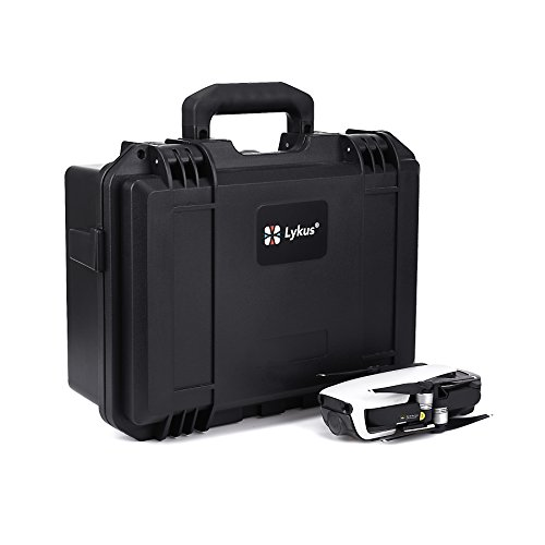 Lykus Titan MA100 Waterproof Case for DJI Mavic Air, Perfectly Fit DJI Mavic Air Fly More Combo and More Items, Storage Bag Included for Spare Parts