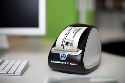 DYMO LabelWriter 450 Turbo Label Maker with 2 Bonus LW Label
