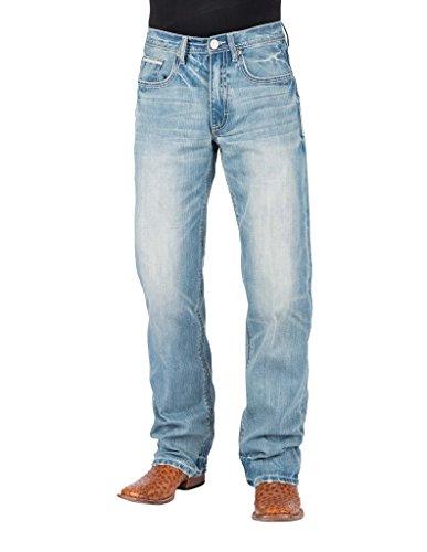 Stetson Western Jeans Mens Low Rise Bootcut Blue 11-004-1312-2017 BU