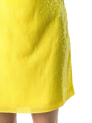 Polyester Ferretti Jupe Alberta J01120171027 Femme Jaune wvcfq8