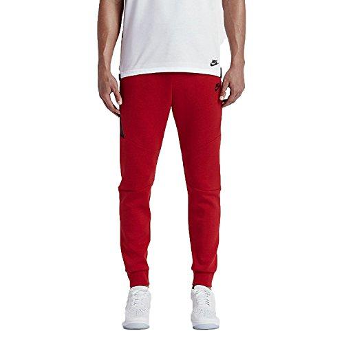 685068196737 UPC - Nike M Nsw Tch Flc Jggr Pantalon Rouge  48e38d2d14f41