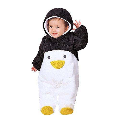 Tueenhuge Baby Boy Girl Flannel Romper Animal Onesie Hooded Pajamas Outfits Suit