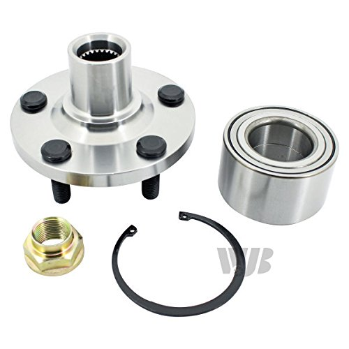 WJB WA930598K Front Wheel Hub Bearing Assembly (Cross Reference: Timken HA590498/SKF BR930598K) from WJB