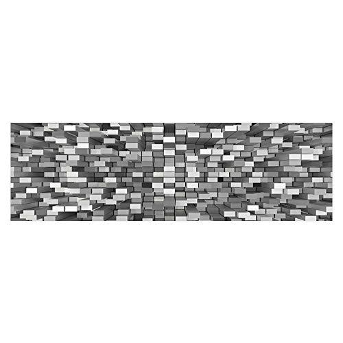 Poster Aquarium Background Backdrop PVC Adhesive Cube Background Sticker Wallpaper Fish Tank L23.6 x H15.7 ()