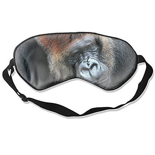 Sleeping Mask Animal Gorilla Monkeys Breathable Blindfold Good Night Eye Cover for Travel