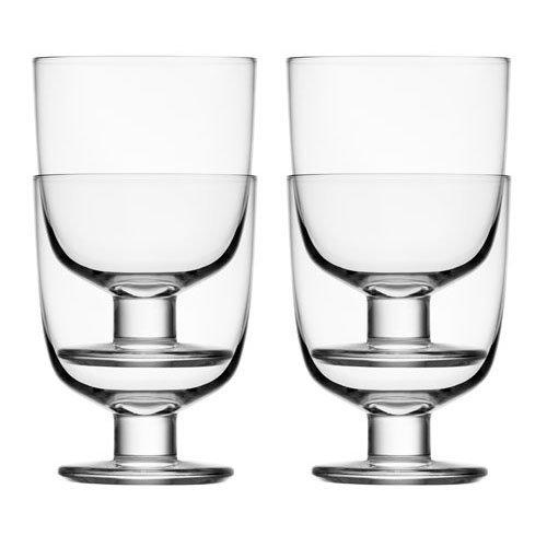 Iittala Lempi Glasses, Set of 4, Clear