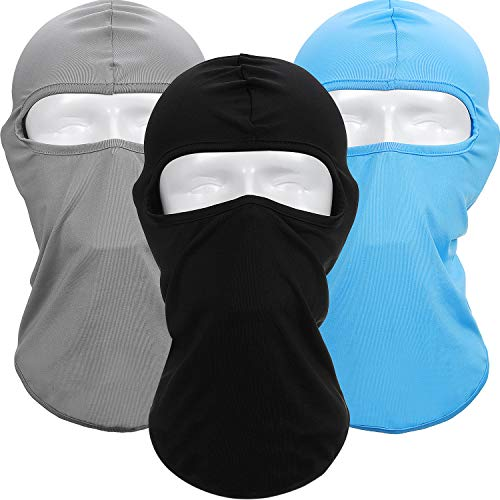 Boao 3 Pieces Balaclava Ski Mask Winter Windproof Face Mask Full Face Mask for Men Women, Winter Ski Masks for Dust, Ski Bicycle Cycling Hiking Hat for Outdoor Sports