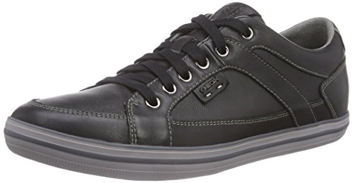 Geox U Box, Men's Trainers Schwarz (Blackc9997)