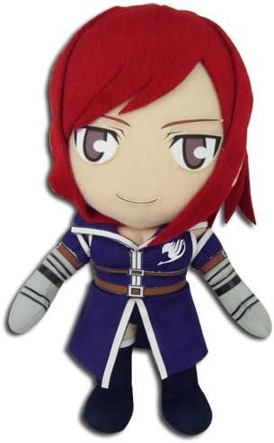 """Fairy Tail Anime Erza 8/"""" Plush"""