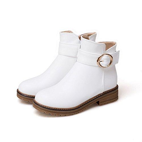 1TO9 1TO9Mns02543 - Sandalias con Cuña Mujer blanco