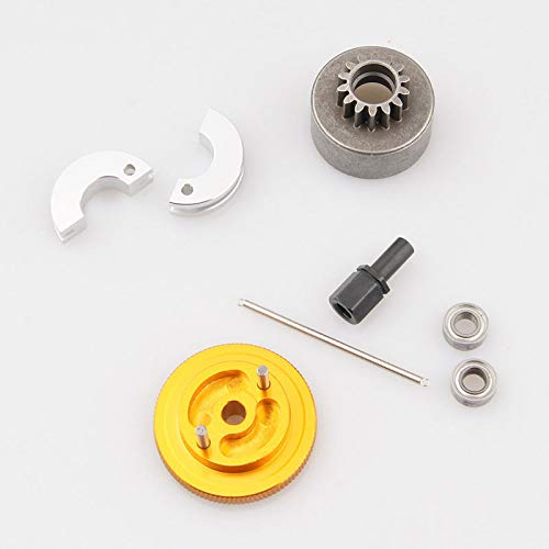 Toyoutdoorparts RC 02139 02107 102273S 102006G Engine Flywheel Set HSP 1/10 Nitro Power Car