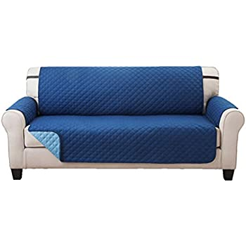 Amazon Com Deluxe Reversible Sofa Furniture Protector