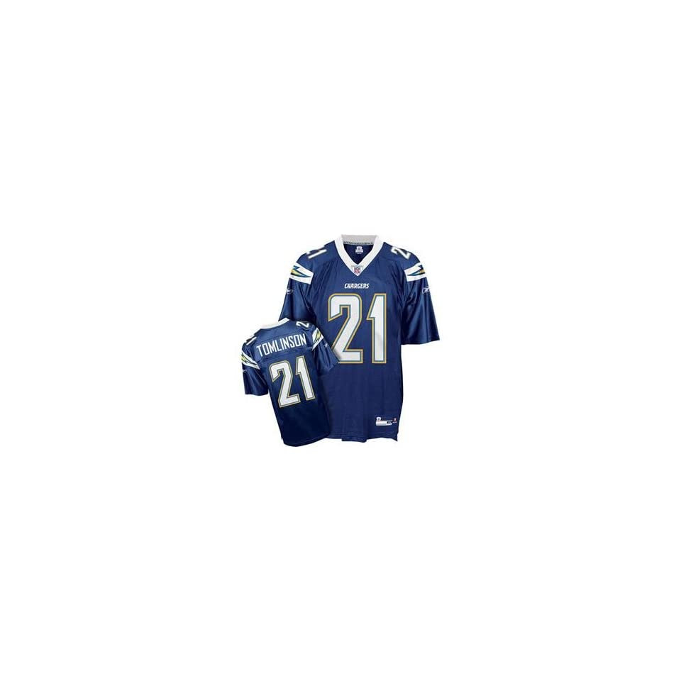 LaDainian Tomlinson #21 San Diego Chargers NFL Replica Player Jersey By Reebok (Team Color)