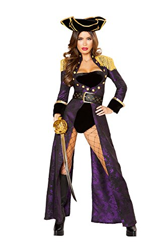 Sexy Pirate Queen Costume - Caribbean Pirate Queen Costume