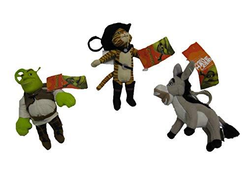 Amazon.com: Shrek Llavero, Shrek, botas y burro – 3 piezas ...