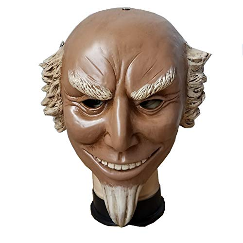 (COSFLY Adult Sam Mask Cosplay Props Halloween Uncle Horror Mask Election Year)