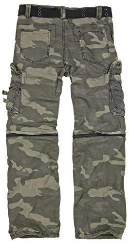 Surplus Homme Royal Outback Pantalon Royal Camo Taille 3