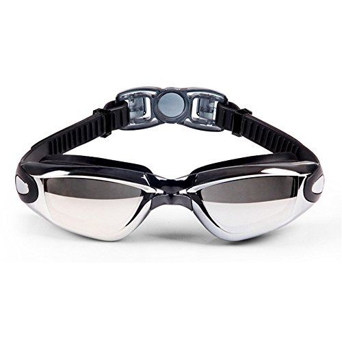 FEIUPE Swim Goggles, Swimming Goggles No Leaking Anti Fog UV Protection Triathlon Swim Goggles with Free Protection Case for Adult Men Women Youth Kids Child