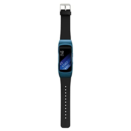 yocktec Garmin vivosport ajustable correa de repuesto Real auténtica correa de piel suave Slim reloj para