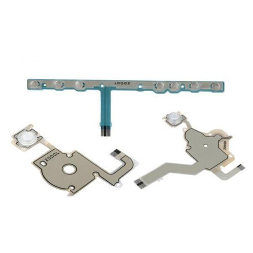 Psp Replacement Parts - Games&Tech Keypad L/F Left Right Volume Shoulder Buttons Flex Ribbon Cable Set for Sony PSP 2000