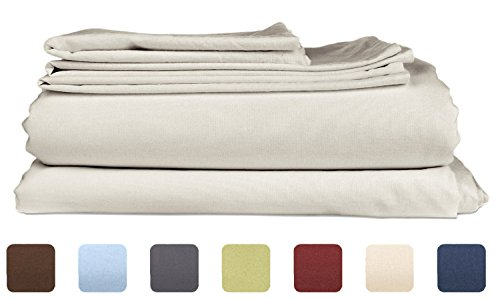 Queen Size Sheet Set - 6 Piece Set - Hotel Luxury Bed Sheets - Extra Soft - Deep Pockets - Easy Fit - Breathable & Cooling Sheets - Wrinkle Free - Gray - Light Grey Bed Sheets - Queens Sheets - 6 PC