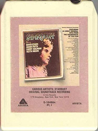 Stardust Original Soundtrack Recording 8 Track Tape ()
