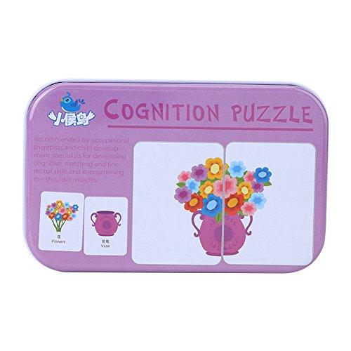 Vehículo / Animal / Frutas / Productos Vivos Formación de Aprendizaje Tarjetas de Memoria Bebé Early Educational Anti-Tear...