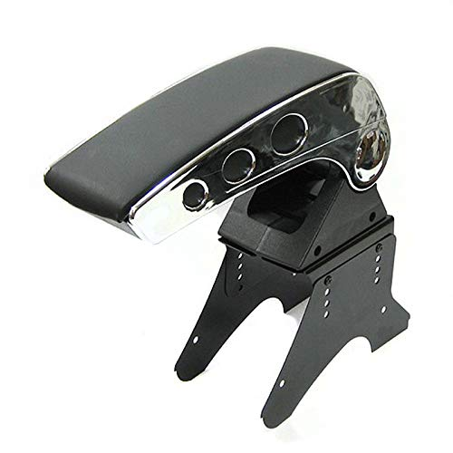 Chrome Universal Armrest Arm Rest Centre Console For Car Auto Van Bus Automarket22