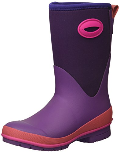 ated Neoprene Boot with Memory Foam Snow, Purple, 12 M US Little Kid ()