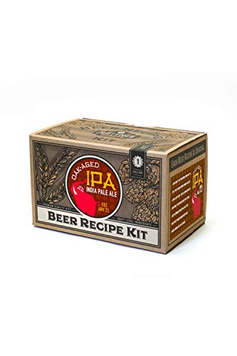 Craft a Brew Ingredient Oak Aged IPA Recipe Kit - Make Your Own Beer with Home Brewing 1 Gallon