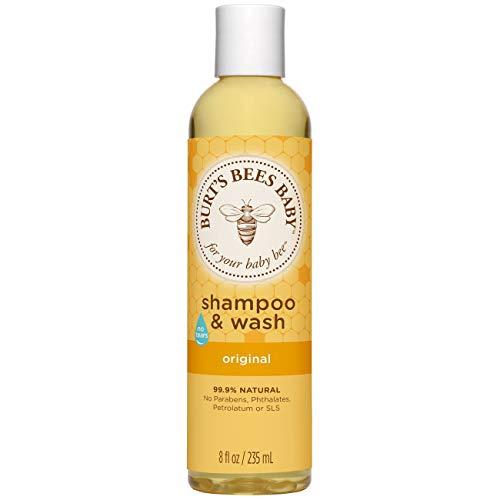 Burt's Bees Baby Bee Original Shampoo & Wash 8 oz (Pack of 3)