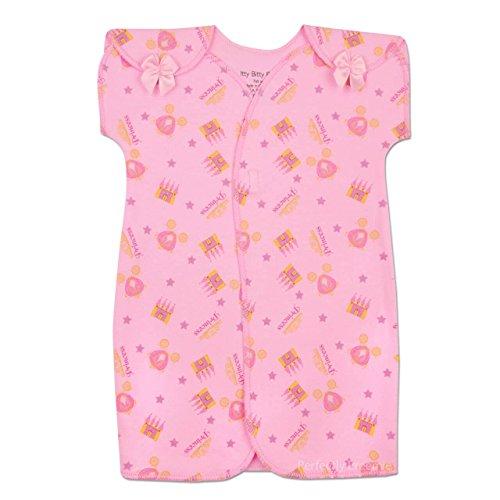 Itty Bitty Baby NICU Gown - NICU Friendly (Princess Garden, 1 Month (5-8lbs)) ()