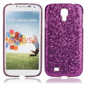 Shining Hard Case for Samsung I9500 Dark Purple