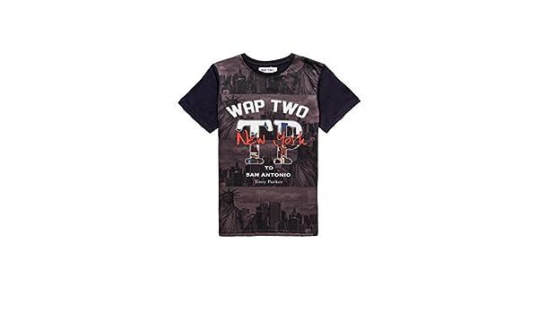 Two-Wap Tony Parker-Kid-Draftnovedades-Camiseta, color azul marino azul 16 años: Amazon.es: Ropa y accesorios