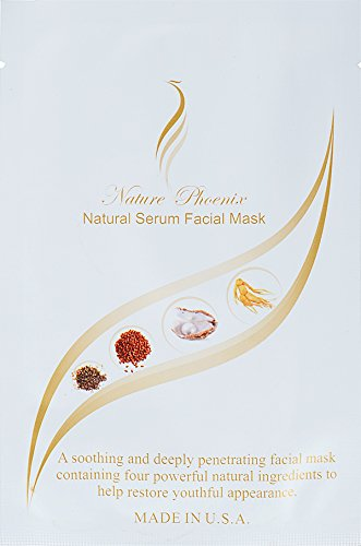 Nature Phoenix Facial Mask. Uses Natural Serum that can Replace Your Moisturizer, Toner, Facial Oils. Contains Concentrated Active Natural Ingredients. Restores Youthful Appearance. -  Nature Phoenix LLC