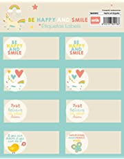 Grupo Erik Editores ELE0212 - Bolsa 2 hojas de 8 etiquetas adhesivas