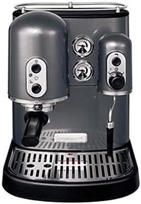 KitchenAid Artisan 5KES100 - Cafetera (Gris, Goteo, Metal, De café ...