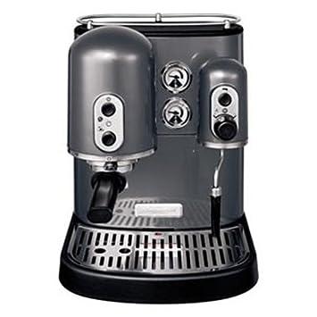 KitchenAid Artisan 5KES100 - Cafetera (Gris, Goteo, Metal, De café molido,