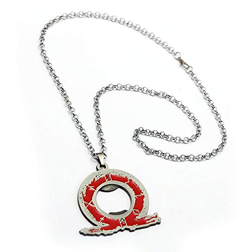 Value-Smart-Toys - God Of War Metal Necklace Bottle Opener Link Chain Kratos PS4 Ares 4 Necklaces Symbol Pendant Jewelry Man And Woman favorite gifts (God Of War Ascension Pc Game Registration Code)