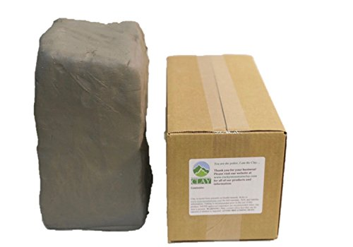 Pottery Clay - 25 lb of Low Fire Cone 06 White Clay - Rocky Mountain Clay CT3
