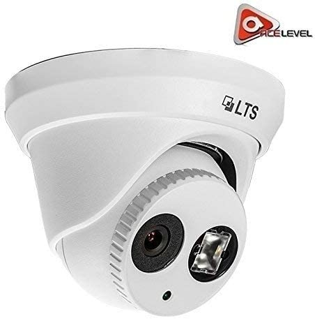 Platinum Fixed Lens Turret Network IP ONVIF PoE 3D 4.1MP 2.8mm Security Camera